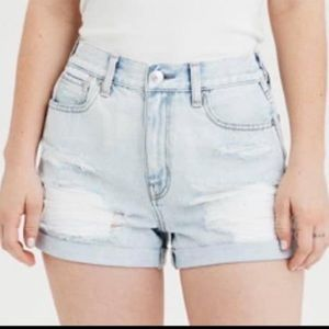 Distressed American Eagle Mom Shorts